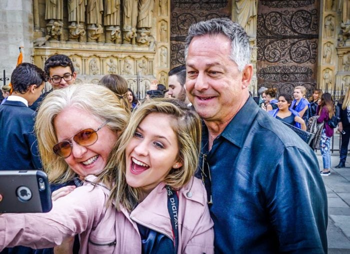 Happy Inside Europe Family Experience Travelers in Paris