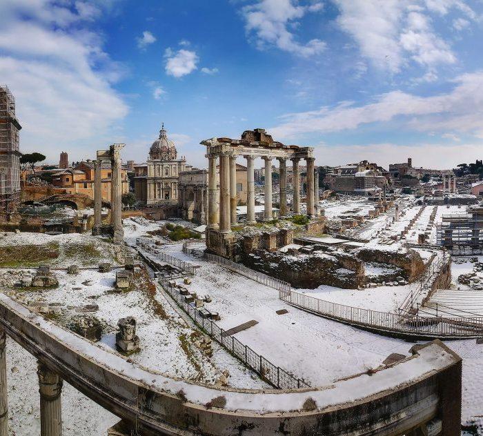 In ITALY: Winter Wonderland Rome
