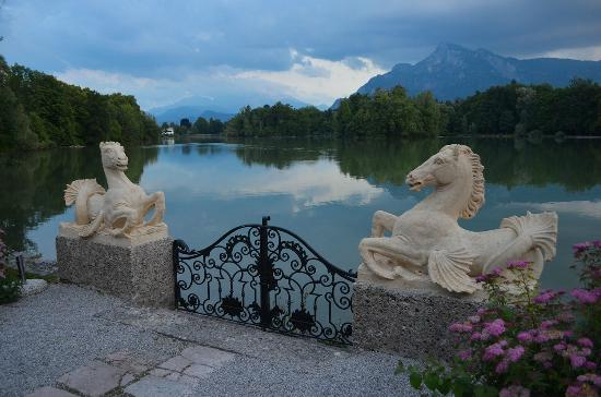 'Sound of Music' sea horses in Salzburg, Austria