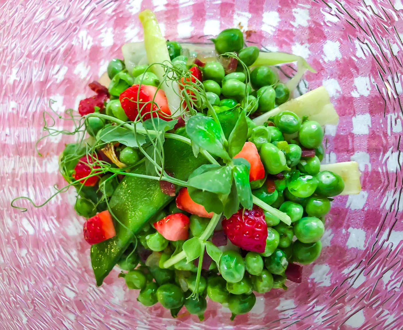Buen Provecho: Peas for Two