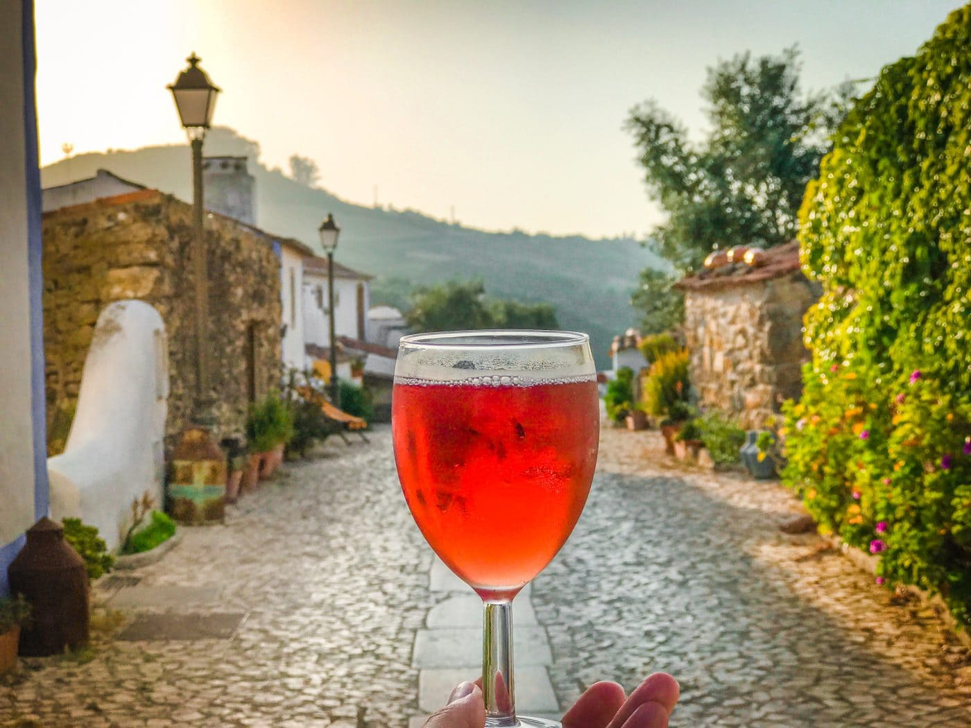 In Portugal: Tchin Tchin from your 'own' village