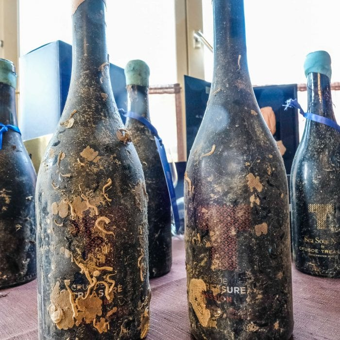 Topa! Cheers to Underwater-Aged Wine in Spain