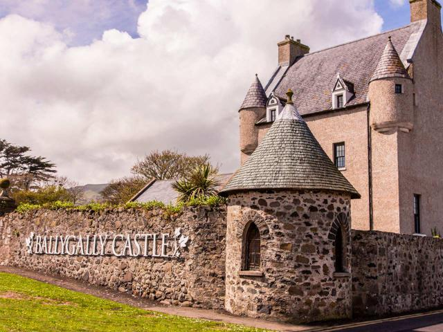 Sight-Sleeping in Northern Ireland: Ballygally Castle