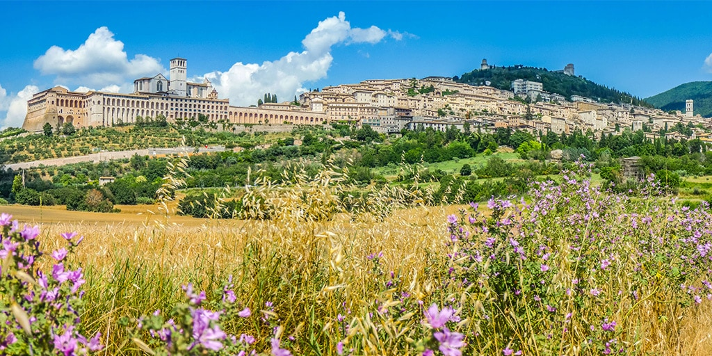 Two Concerts in Assisi, Umbria for JSerra