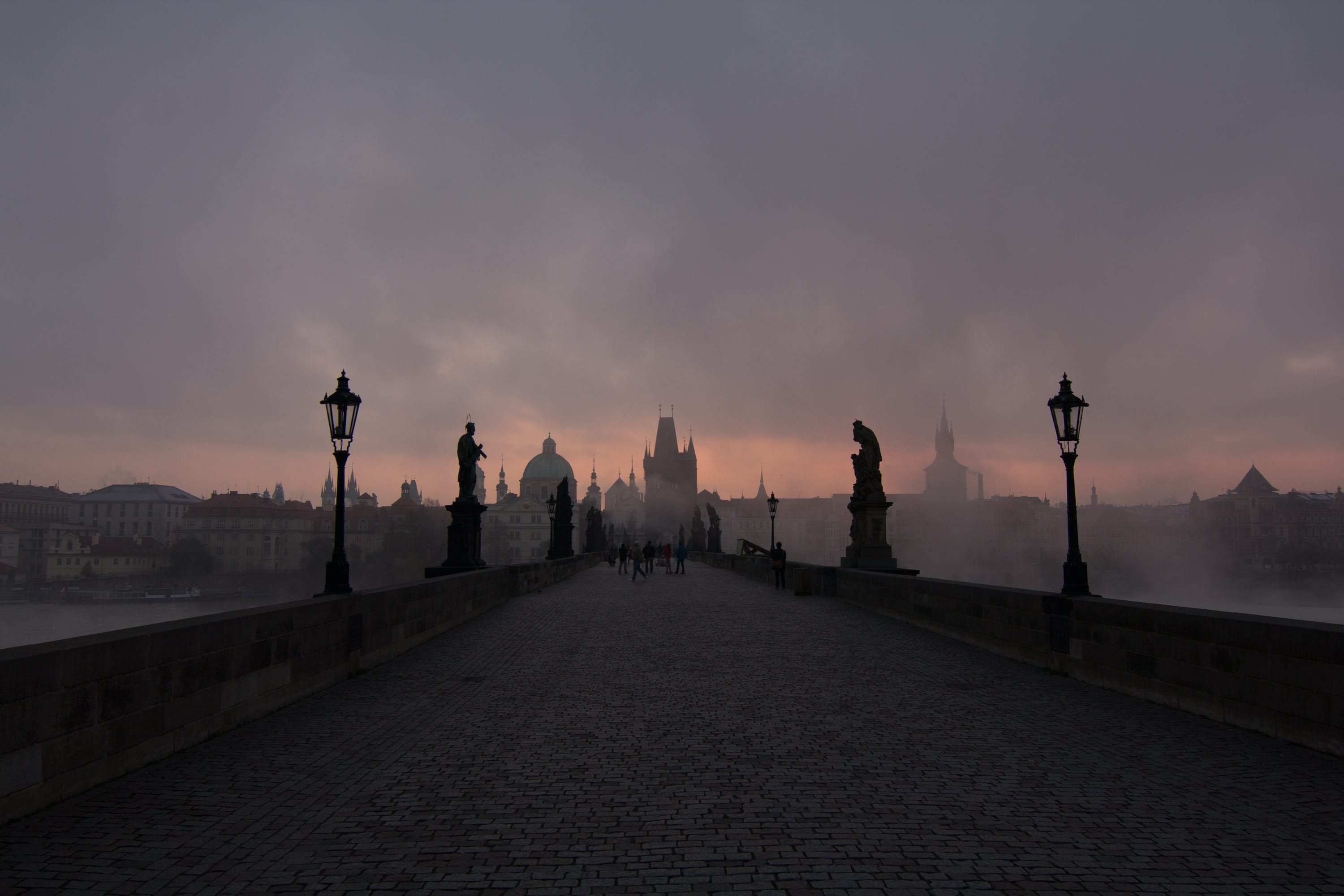 Charles' Bridge iN Prague at Dawn - Photo by Ryan Lum on Unsplash