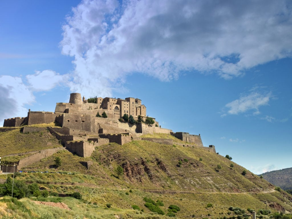 Cardona Castle with its Parador is part of the iNSIDE EUROPE Sight-Sleeping Collection
