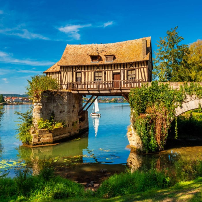 Photo from France: Old Mill in Vernon, Normandy