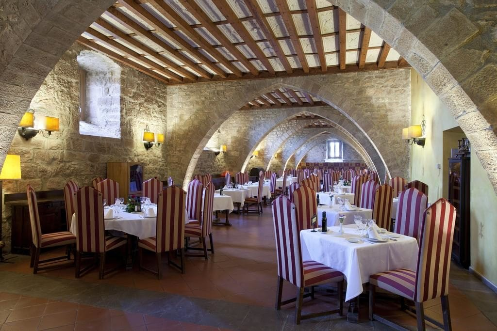 Dining Hall of the Cardona Parador