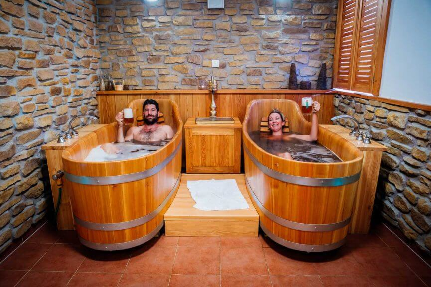 Bobo and Chichi Beer Spa experience
