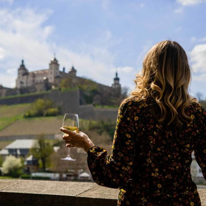 Cheers to a Wonderful Wine  Down in Würzburg