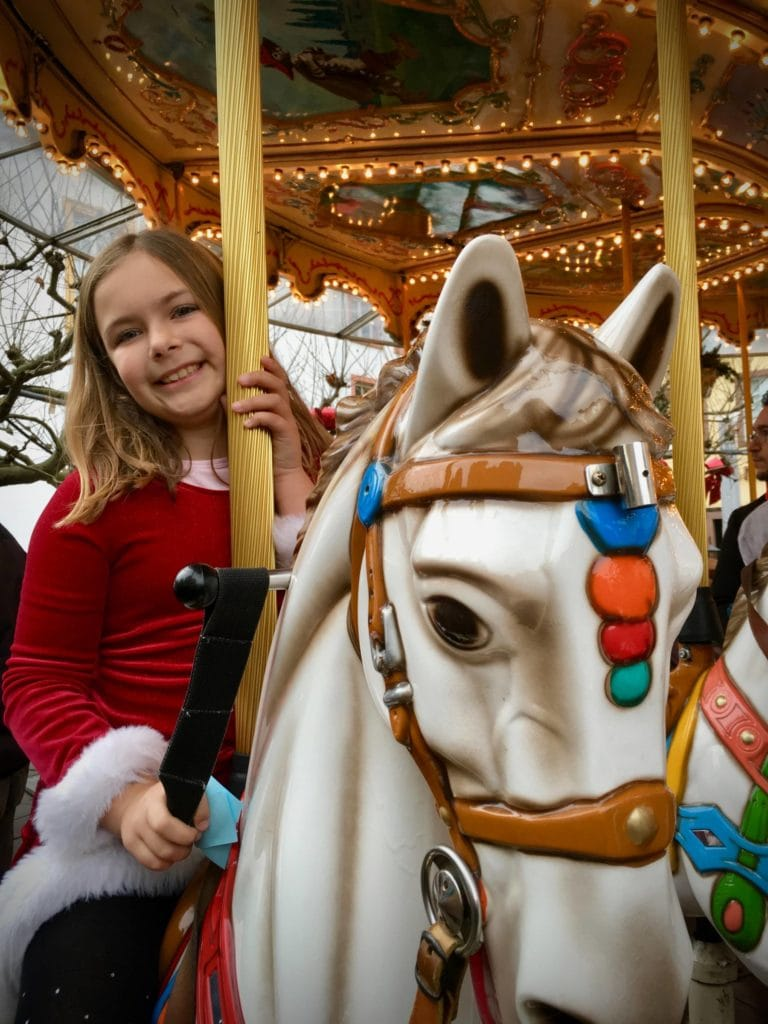 Carousel at the Trier Christmas Market