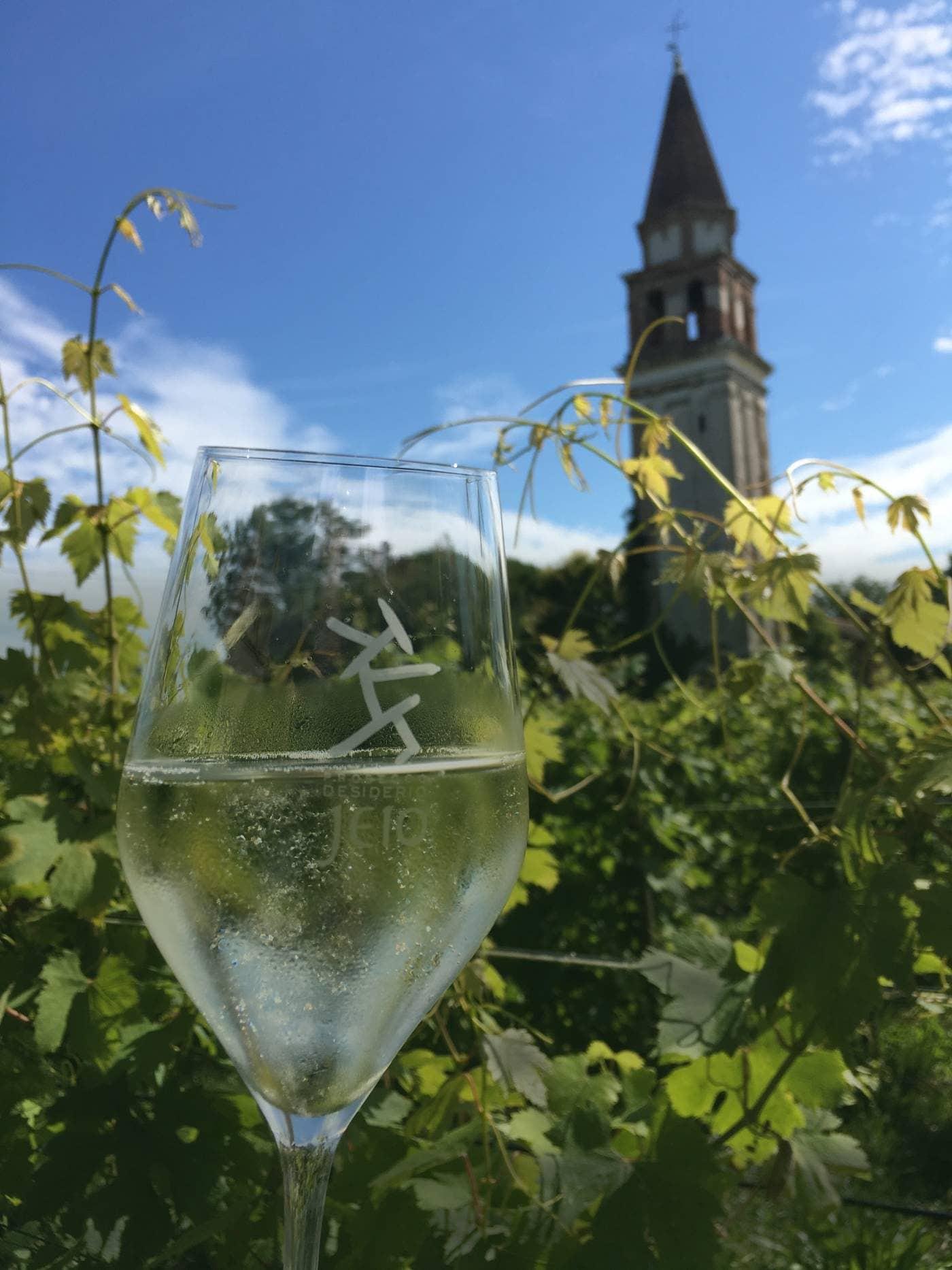 CinCin from the Venissa Wine Resort in Venice