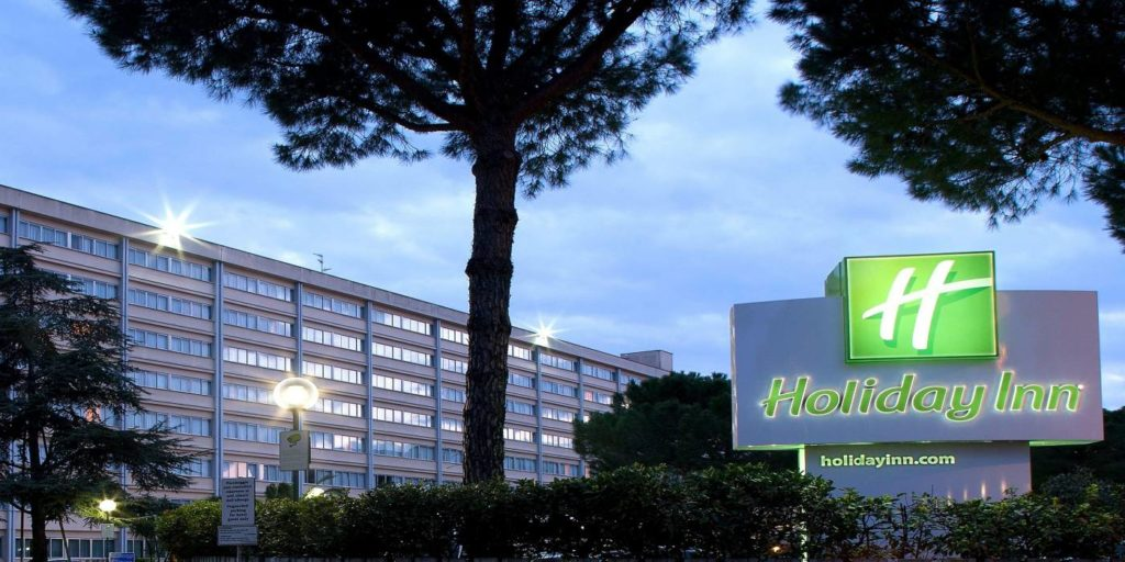 Holiday Inn Rome EUR from the outside