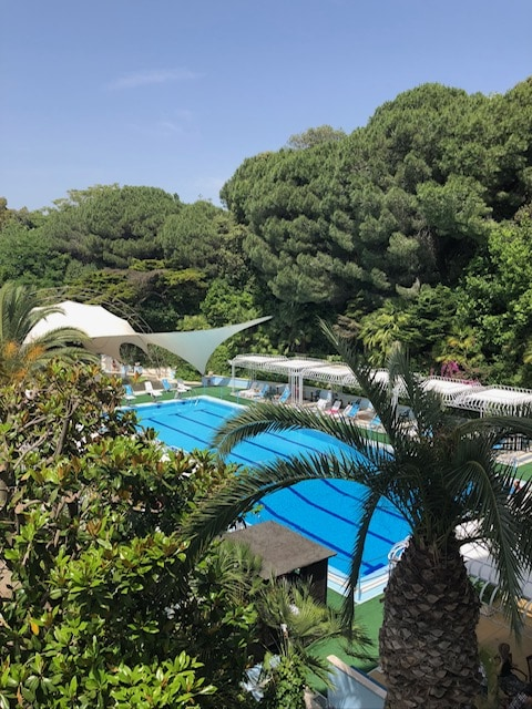 Pool area at Hotel Mirasole, Gaeta