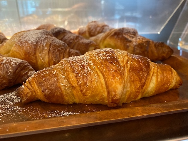 Fresh Croissant at Hotel Mirasole, Gaeta