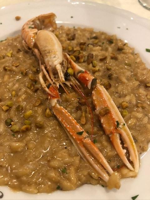 Seafood Dinner at Hotel Mirasole, Gaeta