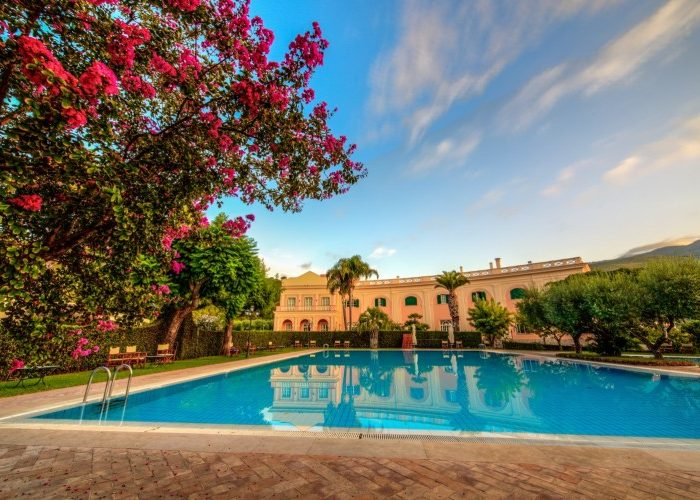 Sleep in Italy: Villa Irlanda Grand Hotel