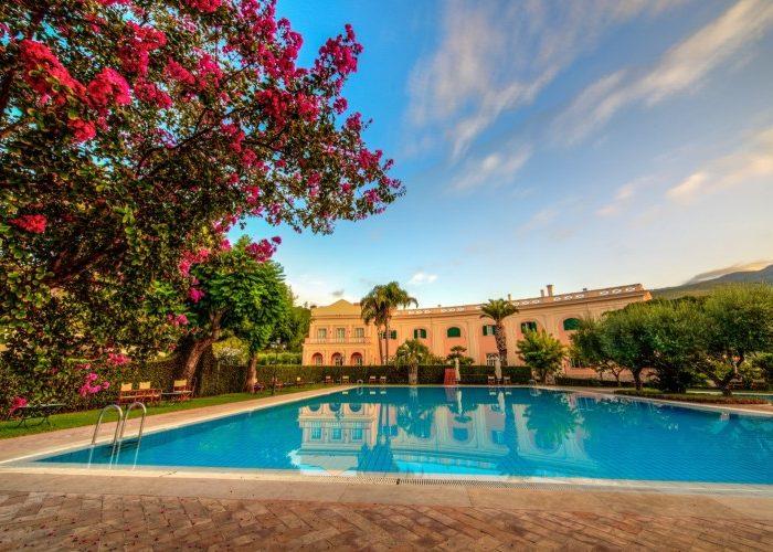 Sleep in Italy: Villa Irlanda Grand Hotel