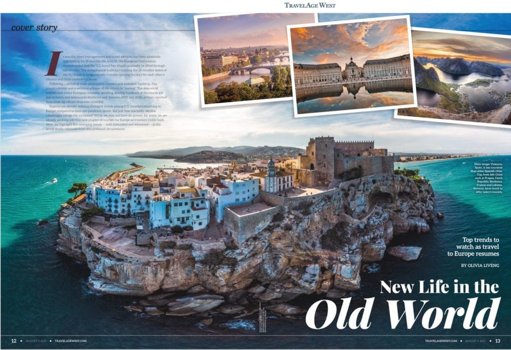 Inside Europe Travel 2021 Cover Story